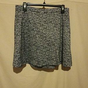 Mini skirt flaired